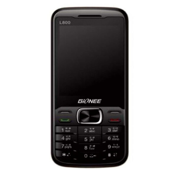 Gionee L800 Black Front