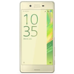 X Dual LimeGold Front