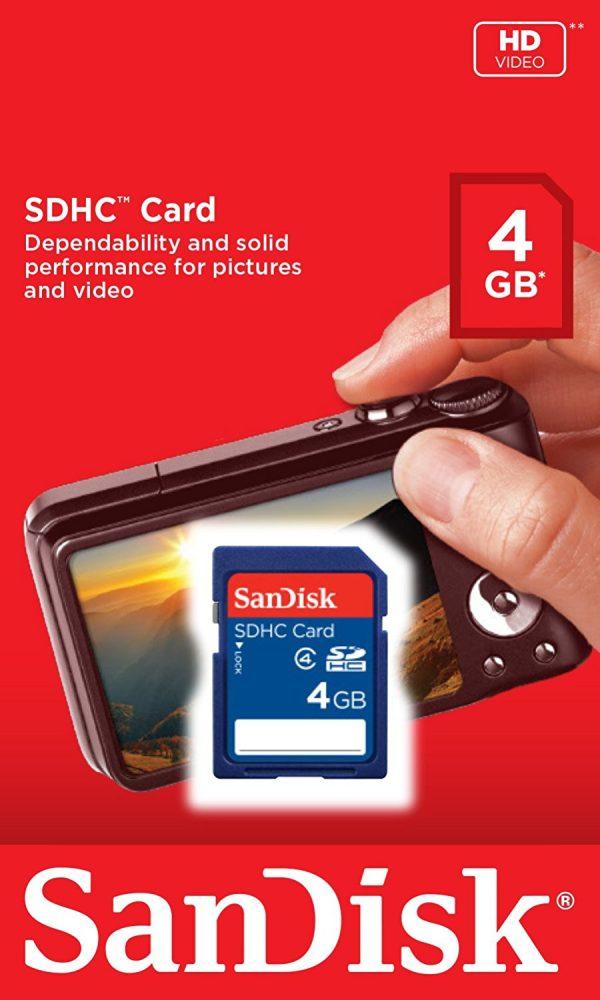 4GB Camera Case