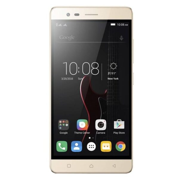 K5 Note Gold Front