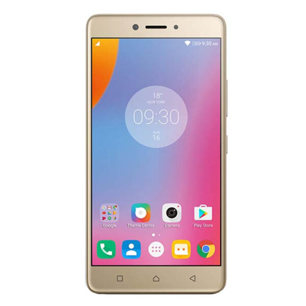 K6 Note Gold Front