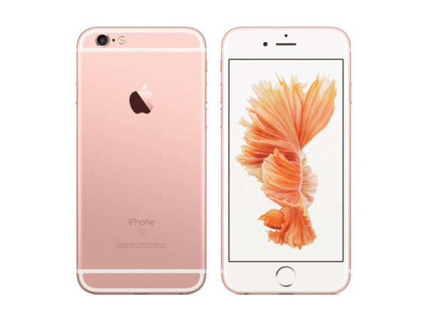 iPhone6s rose gold back front