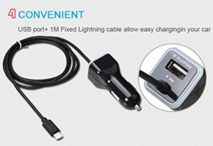 iphone 5 car charger 6
