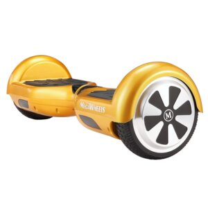 Megawheels Hoverboard Gold 1