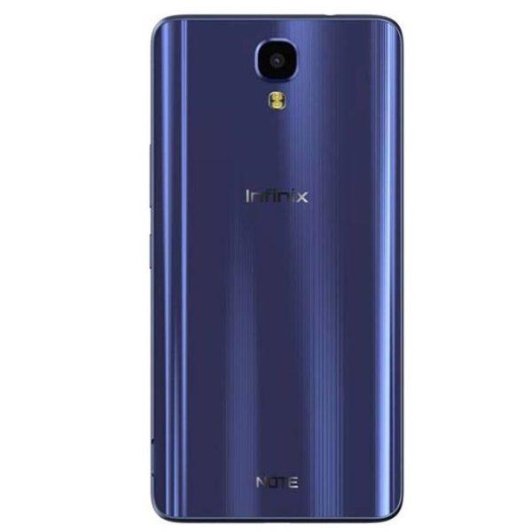 Note 4 Blue Back