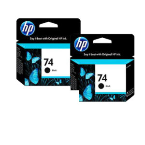 hp 74 black original ink cartridge 2 pack and hp 75 tri color original ink cartridge about this bundle 5678484