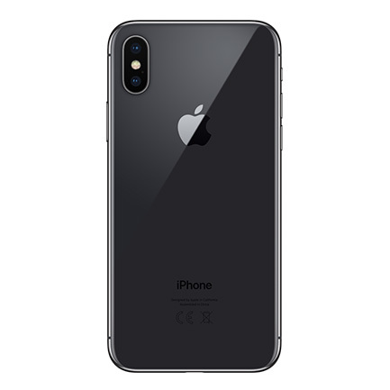 iphone x space gray 2