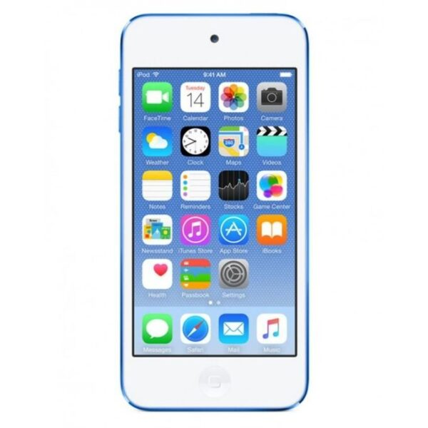 ipod touch front blue