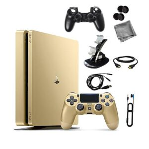 sony ps4 slim Gold 1