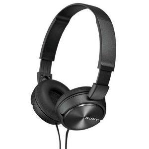 sony headphone black