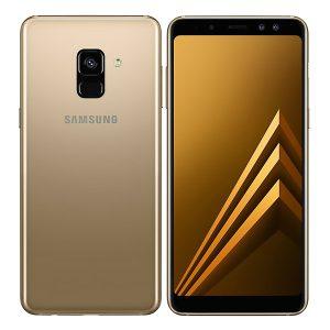 samsung galaxy A8 2018 gold 3