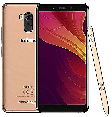 infinix note 5 pro gold