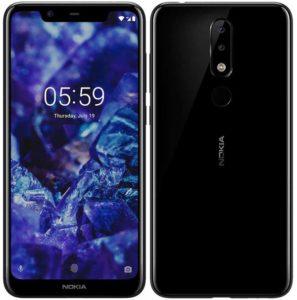 Nokia 5.1 plus black 1