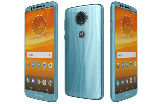 Buy Motorola Moto E5 plus Dual sim [32GB/3GB] Mineral Blue (1 ...