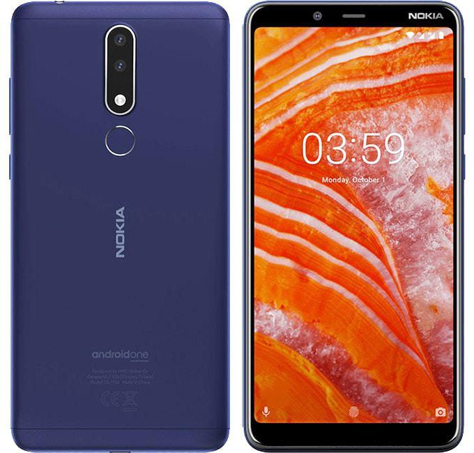 Nokia 3.1 Plus blue 1