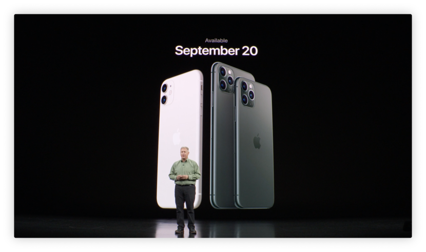 iphone 11 release